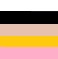 Crudo, negro, beige, mostaza, rosa
